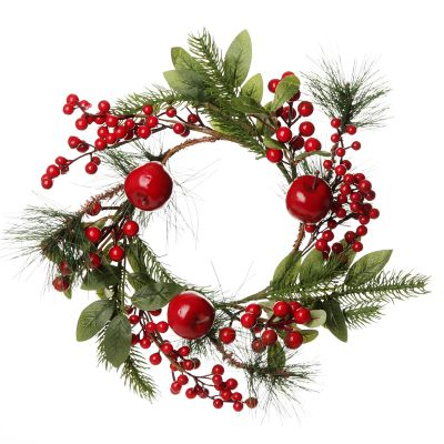 Small Apple and Berry Wreath