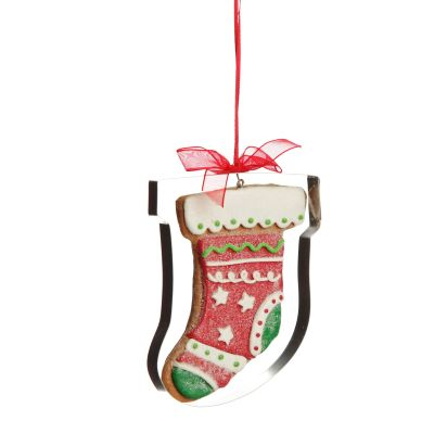 Gingerbread Stocking Cookie Cutter Decoration