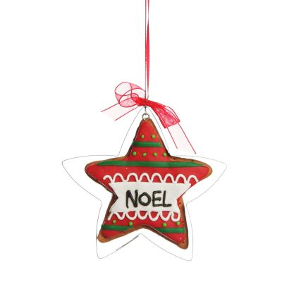 Gingerbread Star Cookie Cutter Decoration