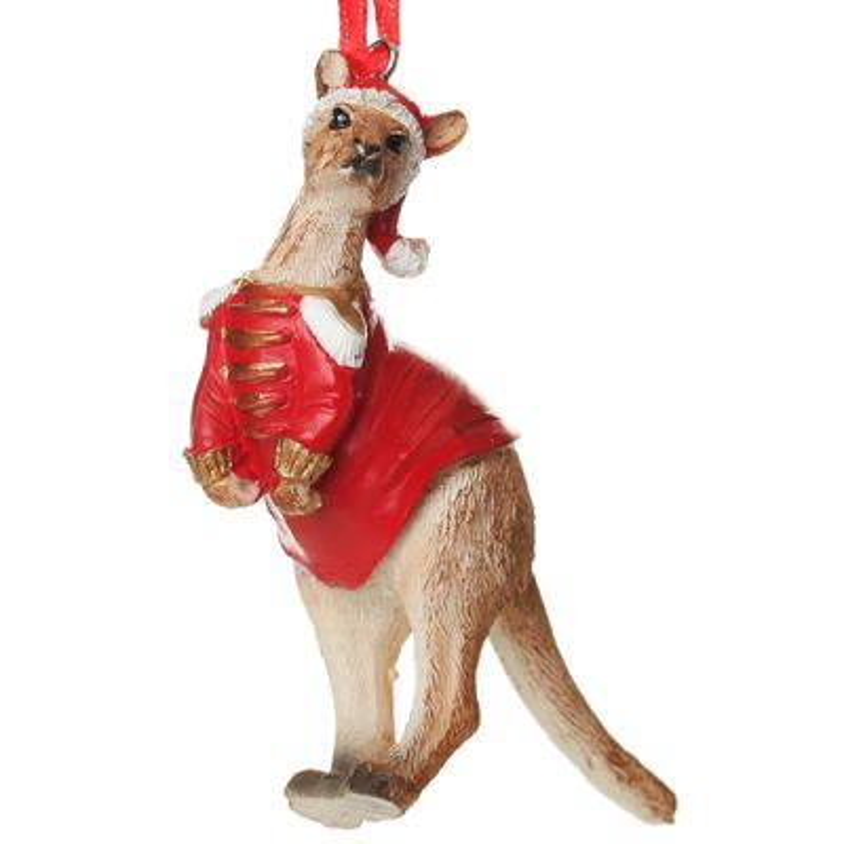 Kangaroo Australiana Christmas Tree Decoration