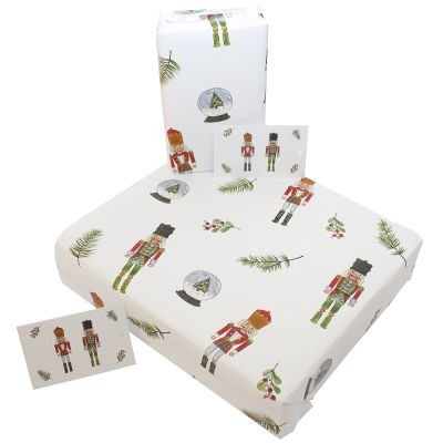Eco-Friendly Design wrapping paper - Christmas Tin Soldiers