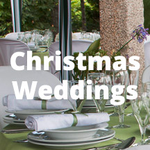 Decoraiting Inspiration CHristmas Weddings