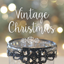 Vintage Christmas Decorating Inspiration