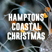 Hamptons Coastal Christmas Deocorating Inspiration