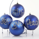 Inspirational Message Bauble