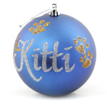 Bauble with Pet's name