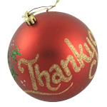 Thank You Christmas Bauble
