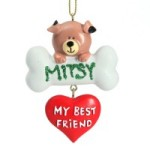 Personal Pet Christmas Ornament - The Christmas Cart